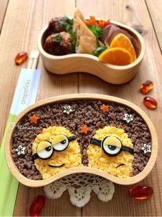{62DBF77F-2194-4E4B-8BB2-08812B39651B} Cute Snacks, Cute Food, Good Food, Yummy Food, Bento Recipes, Baby Food Recipes, Dessert Recipes, Kawaii Bento, Bento Box Lunch