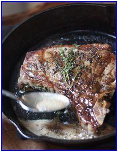 strip steak recipe cast iron-#strip #steak #recipe #cast #iron Please Click Link To Find More Reference,,, ENJOY!! Cast Iron Skillet Steak, Iron Skillet Recipes, Cast Iron Recipes, Skillet Dinners, Steak Au Four, Steak Recipes, Cooking Recipes, Grilling Recipes, Side Dishes