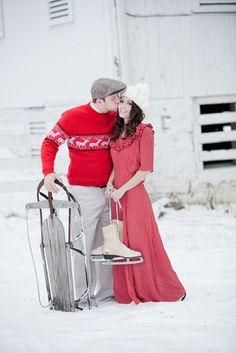 winter love-story ideas