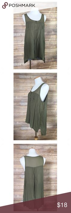 "🆕 SILENCE + NOISE sleeveless tunic NEW without tags, never worn and in excellent condition. lose fit, frayed edges, comfortable and perfect for layering.  details ・large ・28.5"" length ・21.5"" bust   materials ・100% rayon  💰 use offer feature to negotiate price 🚫 i do not trade or take any transactions off poshmark  please don't hesitate to ask questions. happy POSHing 😊  lighting- color of actual item may vary slightly from photos. human hand measurements- give or take a few cm   b2-04…"