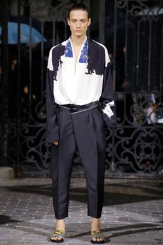 Haider Ackermann Spring 2017 Menswear Fashion Show