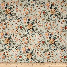 Sark Textiles Gorgeous Folk Style Novelty 100/% Cotton Patchwork and Craft Fabric