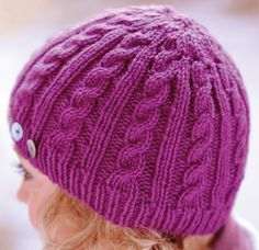 Free cable hat pattern | The Knitter