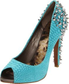 ef9398d679f30c The Lorissa Pump peep-toe pump from Sam Edelman is on point. With its chic  upper and bold metal spikes