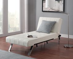 Dorel Home Furnishings Emily Chaise Lounger Multiple Colors,