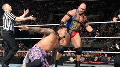 The Usos vs. Ryback & Curtis Axel at #WWE #Raw