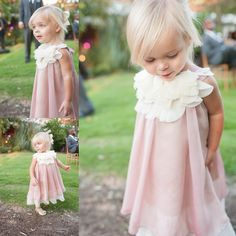 flower girl dress, rustic, blush   So precious!