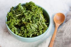 Sometimes the easiest recipes are the best. This Garlic Lover's Kale Salad from Eating Bird Food is literally just kale with a simple garlic tahini dressing, but it's incredibly delicious and nourishing. One serving of this salad has 7 grams of protein and all of your daily Vitamin A and C. Brittany Mullins is a health coach, certified NASM ...
