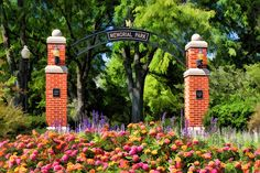 Painting - Wheaton Memorial Park by Christopher Arndt , Wheaton College, Picture Site, My Kind Of Town, Memorial Park, Children's Place, Engagement Pictures, Big Ben, Illinois