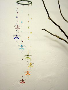 Nursery Idea Crystal Baby Mobile Baby Shower by MobileSuncatchers