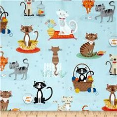 Crafty Cats Spaced Cats