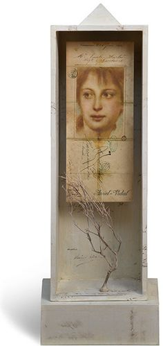 ⌼ Artistic Assemblages ⌼ Mixed Media, Journal, Shadow Box, Small Sculpture Collage Art - Miltos Pantelias