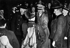 Hunters and Hitler (he detested them, bitched about Goering killing animals at Karinhall), January, 1939.