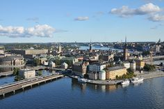 My first business trip was to Stockholm in 1994.