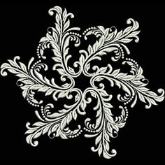 This collection contains 14 beautiful designs to celebrate the beauty of winter. Unique snowflake scenes that would be a gorgeous addition to any project you're dreaming up. Picture a winter wonderland quilt and pillow set. Or decorate a t-shirt and tote bag.