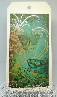 NGCARDS: Tim Holtz Creative Chemistry 101 - Day 5!