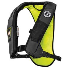 ec03d65dbd200 Mustang Elite 28K Inflatable PFD Automatic HIT Inflator - Gray-Fluorescent  Yellow Green