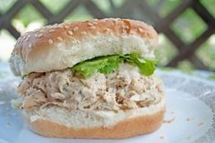 Slow Cooker Chicken Caesar Sandwiches by Jennifer Martinez