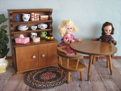 Vintage Doll Furniture   Hall's Lifetime Toys by TheToyBox on Etsy