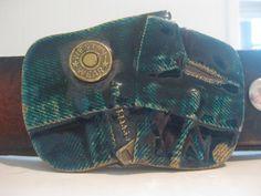 Vintage 1979 Brass and Enamel Belt Buckle