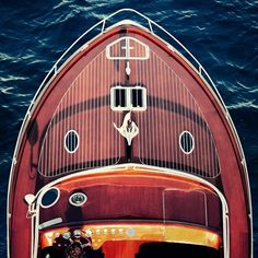 J Craft builds beautiful classic #boats.  #motorboats #yachting #sealife #luxuryboat