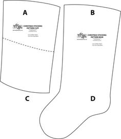 DIY stocking tutorial and free sewing pattern for Christmas @thediymommy
