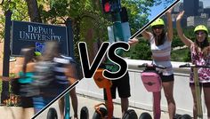 Summer in Chi: DePaul Students Vs. Student-Intern-Tourists  #DePaulU #DePaulUniversity #StudentInterns #ChicagoTourists