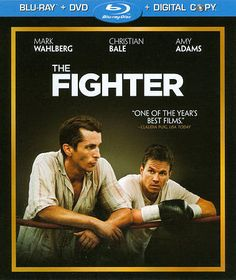 The Fighter (Blu-ray/DVD, 2011, 2-Disc Set, Includes Digital Copy) Like New