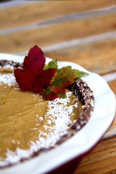 As far as we're concerned every season is pumpkin season. Perhaps it's because there's no end to what you can make with the sweet and savory squash. Try this: Raw, Vegan, Gluten-Free Pumpkin Pie