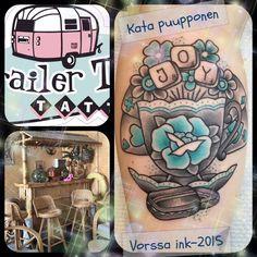 https://www.facebook.com/VorssaInk/, http://tattoosbykata.blogspot.com, #tattoo #tatuointi #katapuupponen#vorssaink #forssa #finland #traditionaltattoo #suomi #oldschool #pinup #trailertrashtattoo #brisbane #teacup