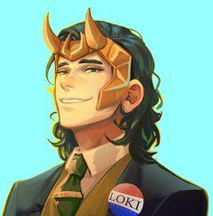Thor X Loki, Marvel Dc Comics, Marvel Avengers, Studio Marvel, Marvel Fan Art, Loki Fan Art, Marvel Drawings, Tom Hiddleston Loki, Loki Laufeyson