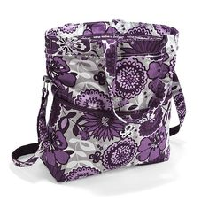 Retro Metro Fold Over in Plum Awesome Blossom. Love my new bag! Can't wait to get it.