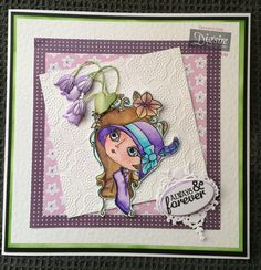Card made using the Verity Rose collection from Crafter's Companion. #crafterscompanion