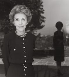 Herb Ritts,, Nancy Reagan, Bel Air 1989