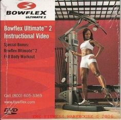 #Bowflex Ultimate 2 Instructional DVD + #Workout http://azondealextreme.net/health-and-beauty/health/bowflex-ultimate-2-instructional-dvd-workout/