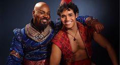 Aladdin and Genie in Disney's Aladdin on Broadway