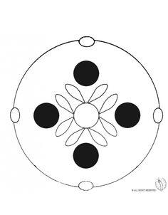 Disegno: Mandala 4. Disegni da colorare e stampare gratis
