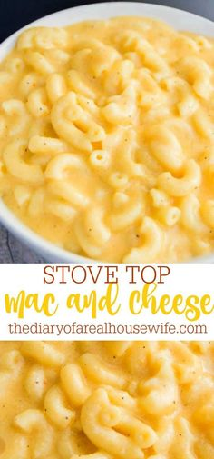 Stove Top Mac and Cheese is creamy and delicious.