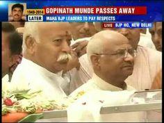 Gopinath Munde is died