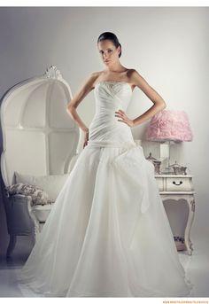 Perlenstickerei  Elegante Brautkleider