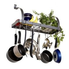 Industrial Stainless Steel Racks Hold A Collection Of