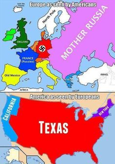 Europe vs USA. You know it's true.