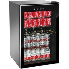 Wine Cooler Beverage Center Refrigerator Dorm Soda Can Glass Stainless LED New   | eBay