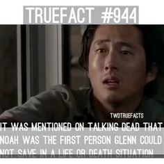 Noah was the first person who died on his watch that's why it was extremely traumatic for him. #TWD