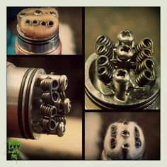 22 Guage V8 - coil porn. www.youratevapes.com VAPEMagazine.com @vapemagazinecom #vapemagazine