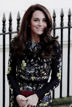 """harryandthecambridges: """"The Duchess Of Cambridge arriving for a briefing to announce plans for Heads Together ahead of the 2017 Virgin Money London Marathon at ICA on January 17th, 2017. """""""