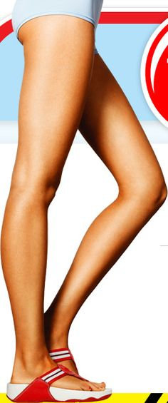 The easy move for totally toned thighs - Place your two fists between your knees. Squeeze your knees together and hold for 30 seconds before releasing. Repeat up to 30 times every other day as part of a workout routine that includes cardio, and you should see results in a few weeks. (GirlsLife)