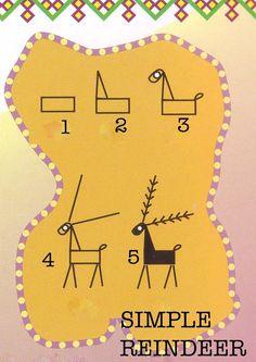 Category: Deer Patterns - PYSANKY BASICS BATIK EGGSby MAGGIE TARRIS BAUER