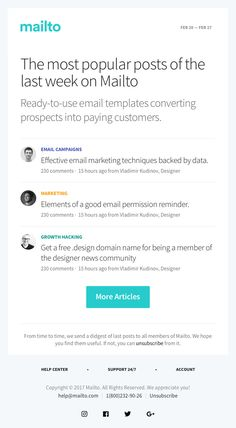 Convert your subscribers into customers with ready-to-use email templates.