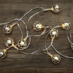 Kikkerland Silver Globe LED Battery Fairy Lights – Beaumonde